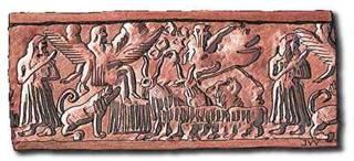 Bassorilievo mesopotamico