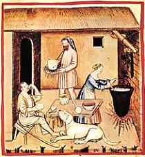 preparazione-formaggio-dipinto-14-secolo