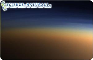 Nubi e strutture atmosferiche su Titano (da Wikipedia)