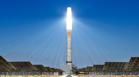 Centrale solare a concentrazione di Fuentes de Andalusia, operativa dal 2011