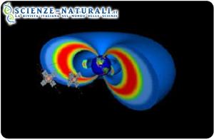 Rappresentazione schematica delle fasce di Van Allen (fonte: John Hopkins University)