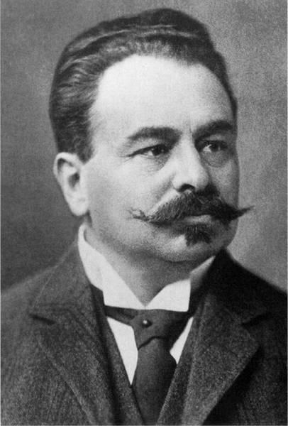 Ludwig Hatschek, l'industriale che brevettò il fibrocemento e che ribattezzò con il nome di Eternit.