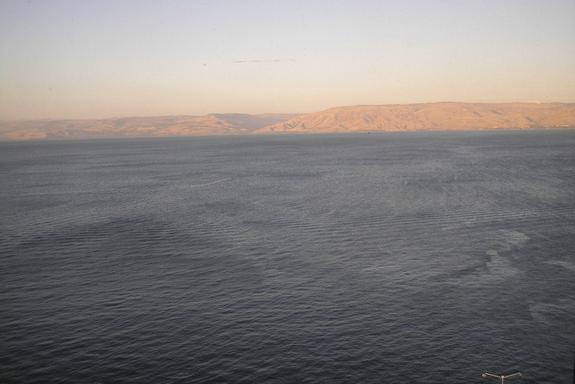 Veduta del Lago di Tiberiade (fonte: web)