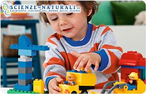 Lo studio paragona l'intelligenza naturale a quella artificiale, uno dei sistemi con la più avanzata intelligenza artificiale ha un media di quoziente intellettivo pari a quello di un bambino con una media di quattro anni. (Immagine: Lego)
