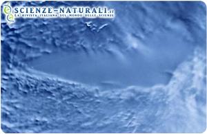 Veduta satellitare del Lago Vostok, in Antartide (fonte: Wikipedia)