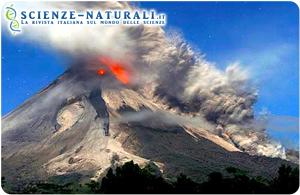 Isola di Giava. Vulcano Merapi (Gunung Merapi)