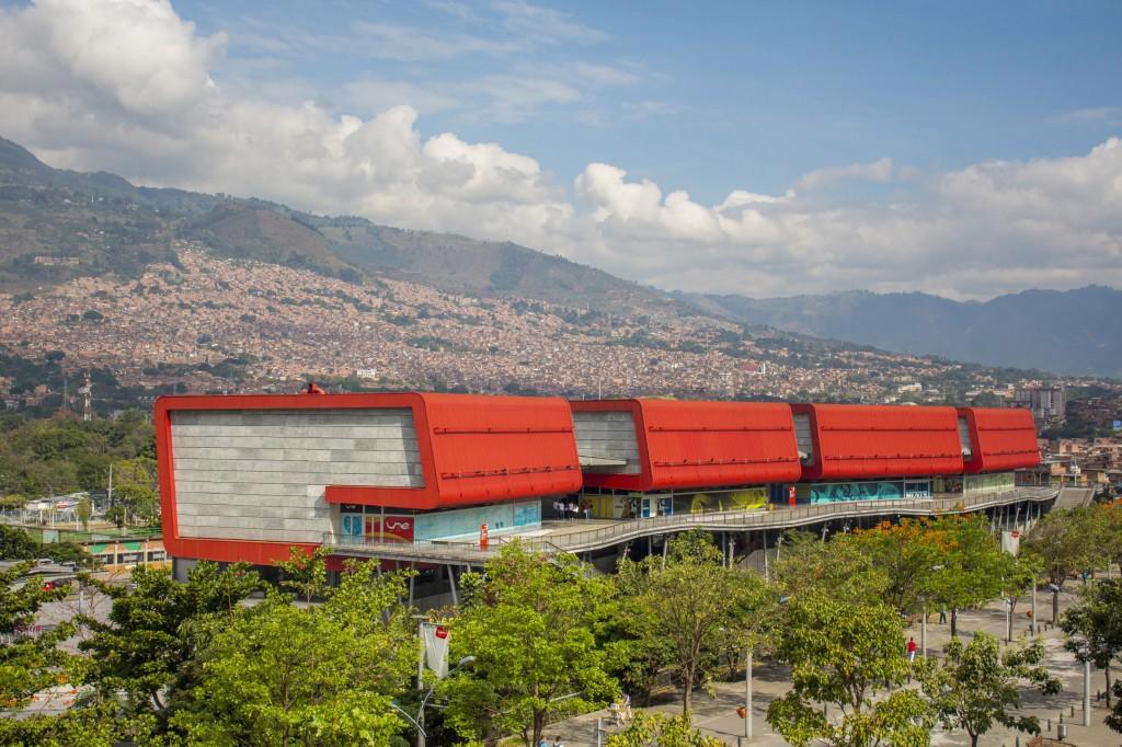 Il parco Explora di Medellin visto dall'alto, cinque piani per scoprire la scienza in tutte le sue forme!