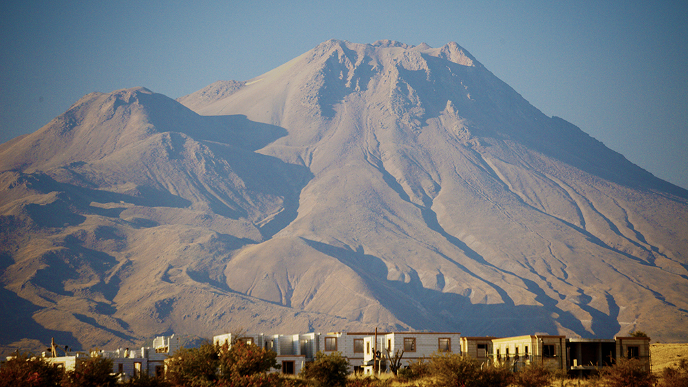 Il vulcano Hasan Dagi (credit: Janet C. Harvey)