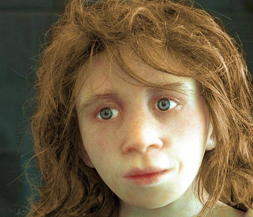 Bambino di Neanderthal (Istituto di Antropologia, Università di Zurigo).