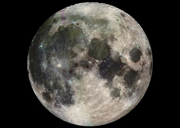 La Luna sarebbe stata generata da una collisione tra la Terra ed un corpo celeste di dimensioni quasi simili, 4,5 miliardi di anni fa (credit: NASA / JPL)