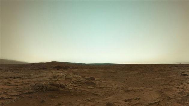 Panorama marziano. Fonte NASA